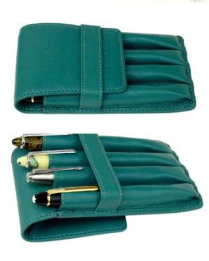 Genuine leather 4 pen